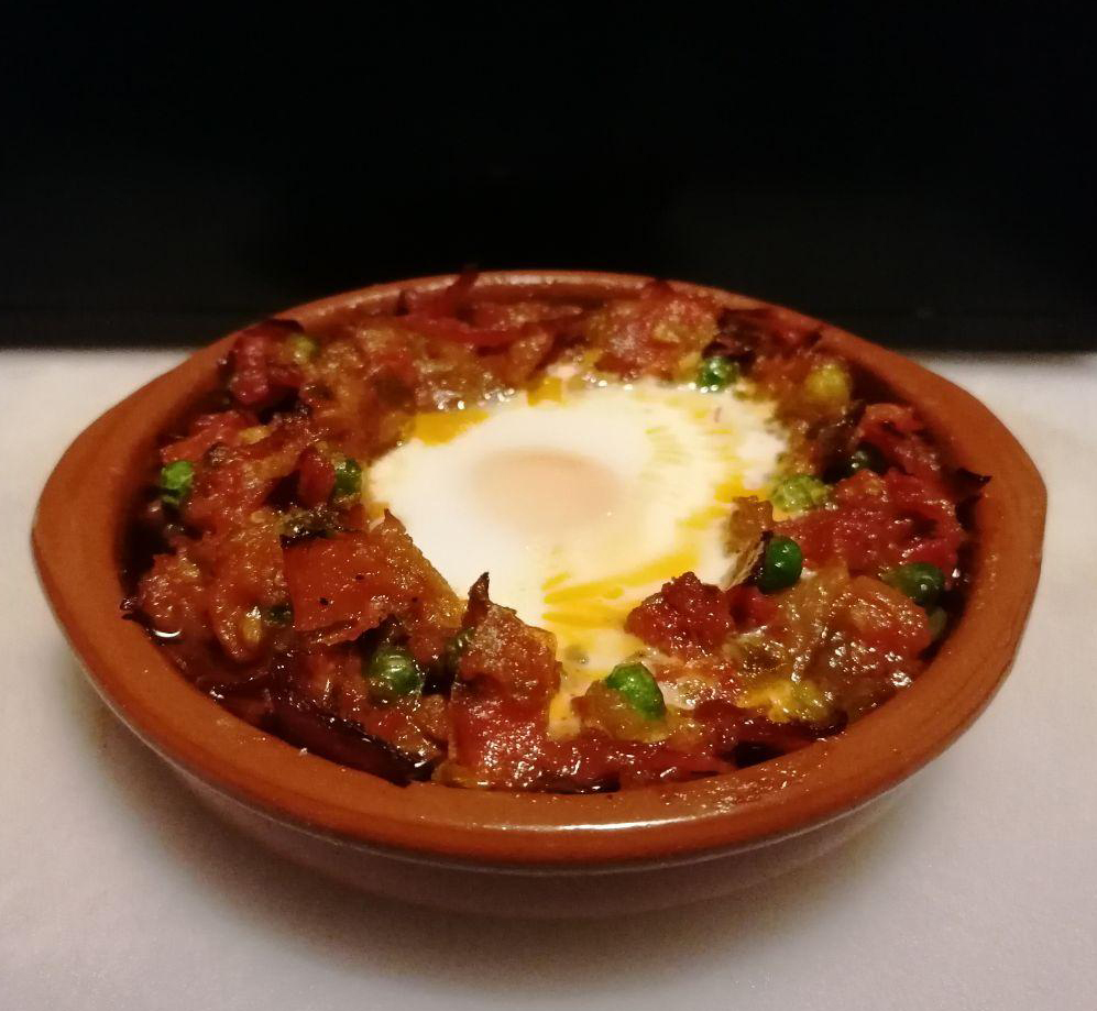 Huevos a la flamenca en mambo