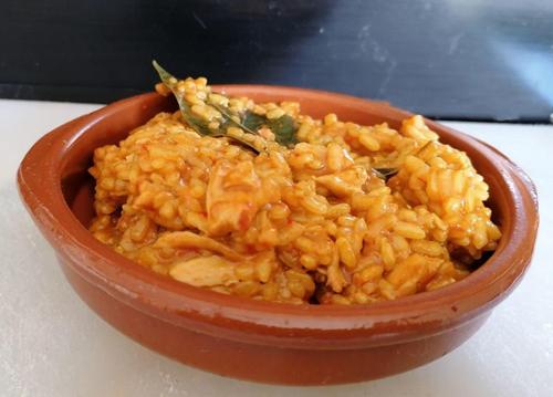 arroz con pollo en Mambo