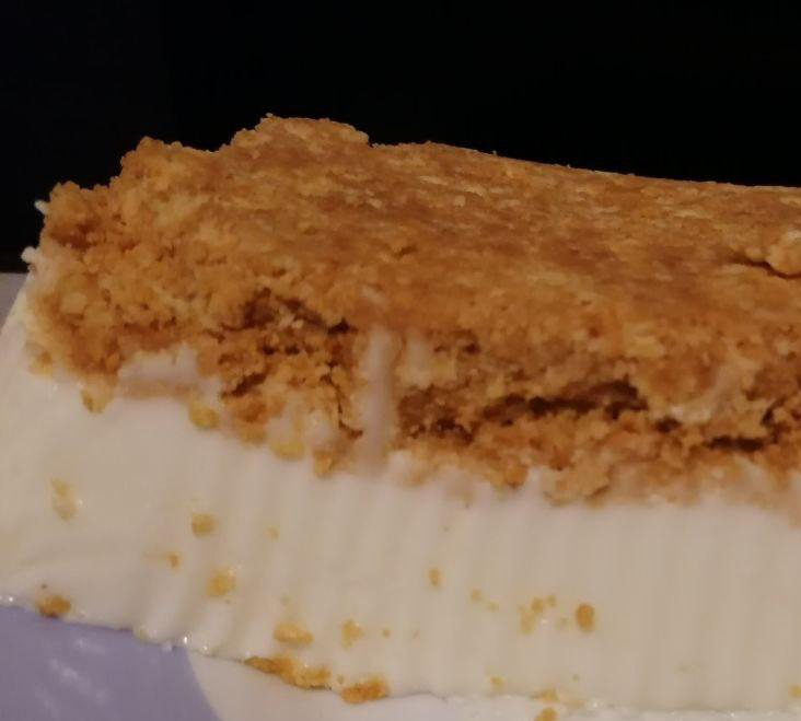 pastel de yogur en mambo